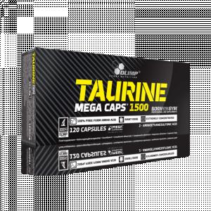 Taurine Mega Caps 120 κάψουλες - Σε 12 άτοκες δόσεις