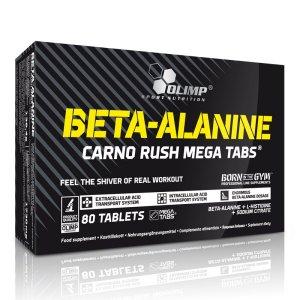 Beta-alanine Carno Rush Mega Tabs 80 κάψουλες - Σε 12 άτοκες δόσεις