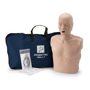 Εκπαιδευτικό Πρόπλασμα Ενήλικα Α' Βοηθειών με Led Μετρονόμο και Τσάντα Μεταφοράς. - PP-AM-100M