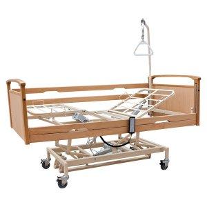 Νοσοκομειακό Ηλεκτρικό Κρεβάτι Πολύσπαστο με πλαϊνά, αναρτήρα και ρόδες Praxis 4 - Σε 12 άτοκες δόσεις