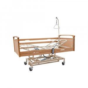 Νοσοκομειακό Ηλεκτρικό Κρεβάτι Πολύσπαστο με πλαϊνά, αναρτήρα και ρόδες Praxis 3 - Σε 12 άτοκες δόσεις