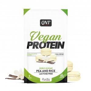Πρωτεΐνη QNT Vegan Χωρίς Ζάχαρη, Γλουτένη και Λακτόζη - 20gr