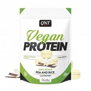 Πρωτεΐνη QNT Vegan Χωρίς Ζάχαρη, Γλουτένη και Λακτόζη - 500gr