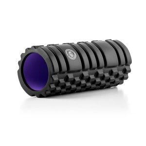 Κύλινδρος Ασκήσεων Ημίσκληρος Foam Roller BTK - Μαύρος 32.5x13.5x2cm