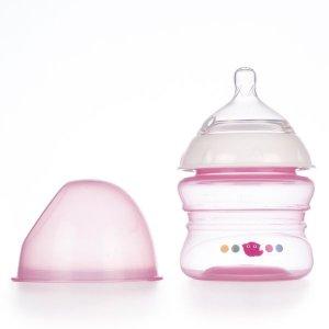 Μπιμπερό Χαμηλής Ροής κατά των Κολικών 150 ml +0 μηνών - Ροζ