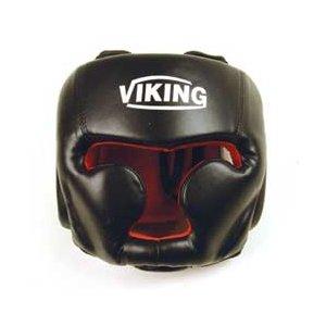 Κάσκα Προστασίας Κεφαλής Viking GS-2001 - Μαύρη με Κόκκινο - Υλικό: Korean PU