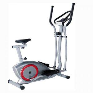 Ελλειπτικό – Ποδήλατο VIKING Fitness T-582 - Μαγνητικό σύστημα αντίστασης με 8 επίπεδα δυσκολίας - Ροδάκια για εύκολη μεταφορά
