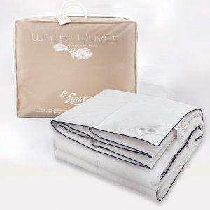 Πάπλωμα Μονό Πουπουλένιο 160x220 The White Duvet 80/20