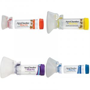Aerochamber Plus Με Μάσκα - Σε 12 άτοκες δόσεις