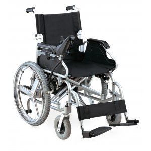 Αναπηρικό Ηλεκτροκίνητο Αμαξίδιο Με Μεγάλους Τροχούς Πτυσσόμενο AC-73 - Σε 12 άτοκες δόσεις