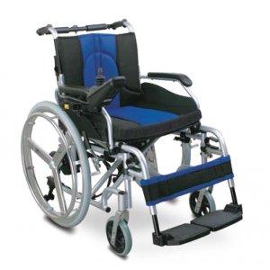 Αναπηρικό Ηλεκτροκίνητο Αμαξίδιο Με Μεγάλους Τροχούς Πτυσσόμενο AC-74 - Σε 12 άτοκες δόσεις