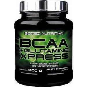 BCAA + GLUTAMINE XPRESS SCITEC NUTRITION 600GR - σε 12 άτοκες δόσεις