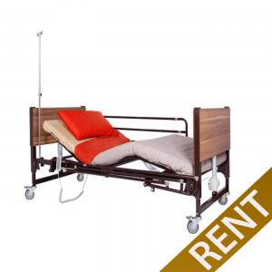 Ενοικίαση κρεβατιού με Ηλεκτρική Ανύψωση Πλάτης-Ποδιών