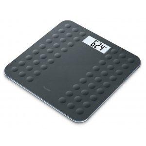 Γυάλινη ηλεκτρονική ζυγαριά GS 300 180kgr Black