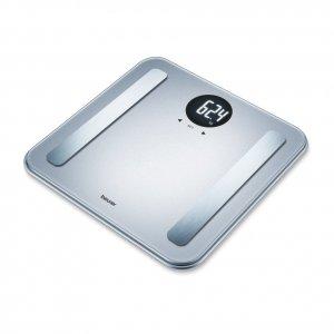 Γυάλινη Ηλεκτρονική Ζυγαριά με Λιπομέτρηση BF 198 Limited Edition - Silver