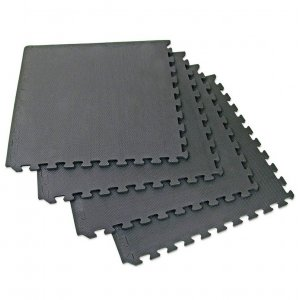 Δάπεδο Προστασίας Optimum 124x124x1,2CM (Μαύρο) - CX-EM3040