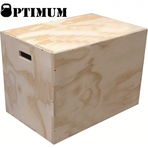 Cross Fit Box (60x50x40cm) Optimum (Plyo Box) - CXC-101