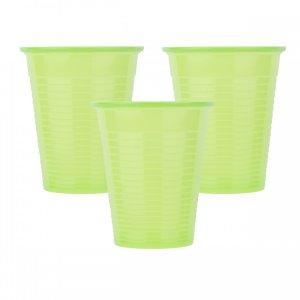 Οδοντιατρικά πλαστικά ποτηράκια μίας χρήσης Λαχανί (100τμχ) - 132.001.LG