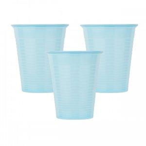 Οδοντιατρικά πλαστικά ποτηράκια μίας χρήσης Γαλάζιο (100τμχ) - 132.001.B
