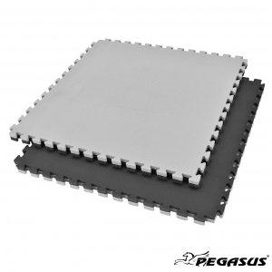 Δάπεδο προστασίας Puzzle EVA (Μαύρο/Γκρι) 2.0cm Β-4100-20