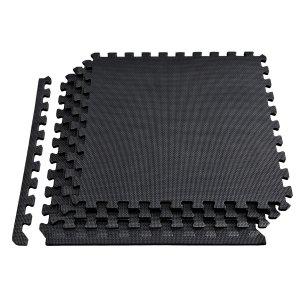 Δάπεδο προστασίας Puzzle EVA (Μαύρο) 1.2cm (Σετ 4τμχ) Β-4300