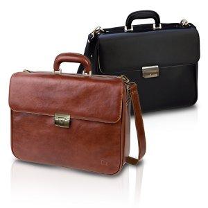 Elite Bags DOCTOR'S Ιατρική Τσάντα Επισκέψεων Δερμάτινη - ELBA-DOC