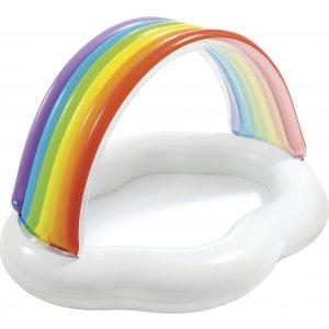 Φουσκωτή Παιδική Πισίνα Ουράνιο Τόξο - Rainbow Cloud Baby Pool - 57141