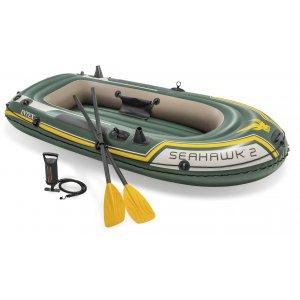 Φουσκωτή Βάρκα Seahawk 2 SET (με κουπιά & τρόμπα) - 68324