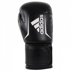 """Γάντι Πυγμαχίας """"SPEED 50"""" 10oz (Μαύρο/Λευκό) ADISBG50-10"""