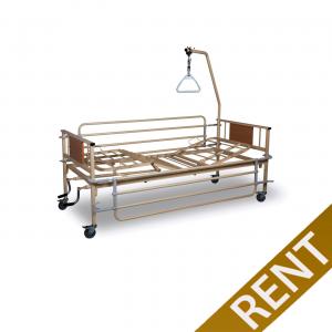 Ενοικίαση νοσοκομειακού κρεβατιού με Ανύψωση Πλάτης-Ποδιών