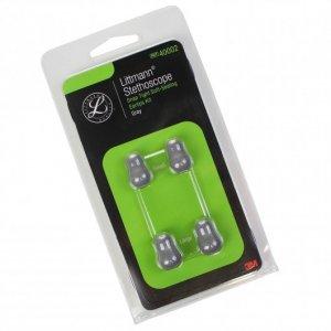 Ανταλλακτικό Κιτ 3M™ Littmann®, Ελιές Μαλακές Κουμπωτές, Γκρι Μεγάλες και Μικρές 40002 (Large and Small)