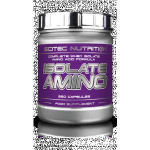 ISOLATE AMINO 250 CAPS SCITEC NUTRITION - σε 12 άτοκες δόσεις