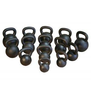 KETTLEBELL BLACK MATT 16KG - σε 12 άτοκες δόσεις