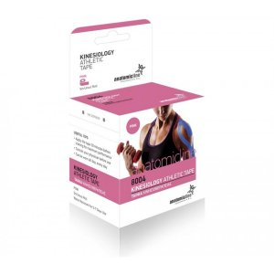 Kinesio Tape -  Επίδεσμος  Κινησιοθεραπείας 5cm x 5m - Ροζ