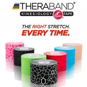 Ταινία Κινησιοθεραπείας TheraBand - Kinesiology Tape 5cm x 5m