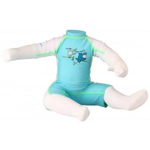 Κορμάκι κολύμβησης παιδικό (γαλάζιο) 55UA-AWL