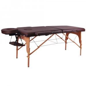 Κρεβάτι μασάζ inSPORTline (ΚΑΦΕ) Taisage ξύλινο - σε 12 άτοκες δόσεις
