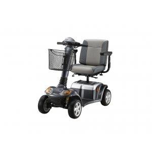 Ηλεκτροκίνητο Αμαξίδιο - Scooter Kymco Super 8 - Γκρι  - Σε 12 άτοκες δόσεις