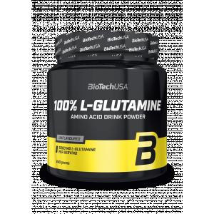 L-GLUTAMINE 100% BIOTECH 240gr - σε 12 άτοκες δόσεις