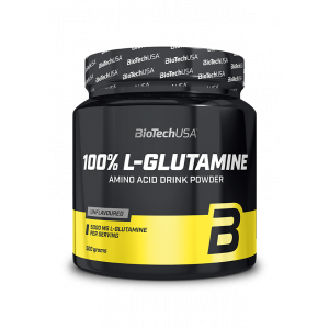 L-GLUTAMINE 100% BIOTECH 500gr - σε 12 άτοκες δόσεις