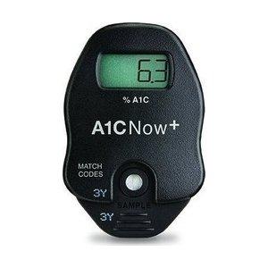 Μετρητής γλυκοζυλιωμένης αιμοσφαιρίνης A1Cnow+10ταινίες