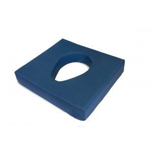 Μαξιλάρι από Visco Elastic για Αποφόρτιση της Περιοχής του Κόκκυγα και της Μέσης με Οπή 46x41x7.5cm AC-721