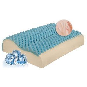 Μαξιλάρι Ύπνου Ανατομικό Memory Foam Visco Elastic Massage Fresh 41x55x10,5-12,5