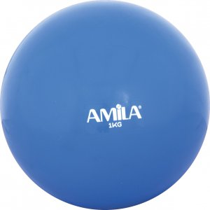 Μπάλα Γυμναστικής (δεν αναπηδά), 1kg, 9,5cm