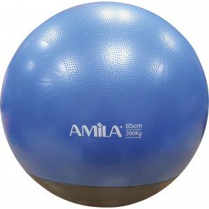 Μπάλα γυμναστικής, Φ65cm, δίχρωμη - 48445 - σε 12 άτοκες δόσεις