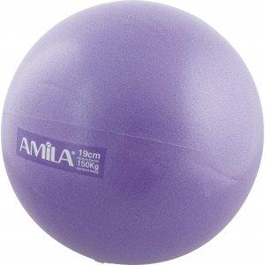 Μπάλα Pilates 19cm Μωβ - 48430 - σε 12 άτοκες δόσεις