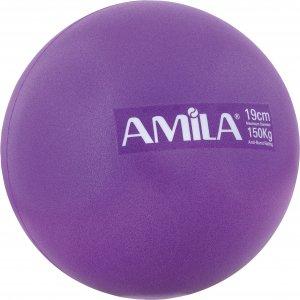 Μπάλα Pilates 19cm Μωβ - 48436 - σε 12 άτοκες δόσεις
