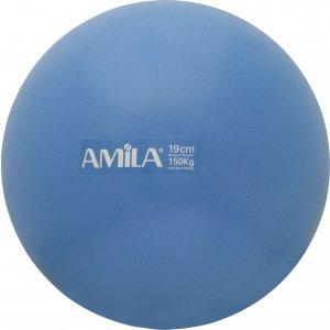 Μπάλα Pilates 19cm, Μπλε - 48400