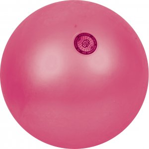 Μπάλα ρυθμικής γυμναστικής, 16,5cm - Ροζ