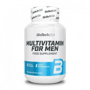 MULTIVITAMIN FOR MEN 60 TABS BIOTECH - σε 12 άτοκες δόσεις